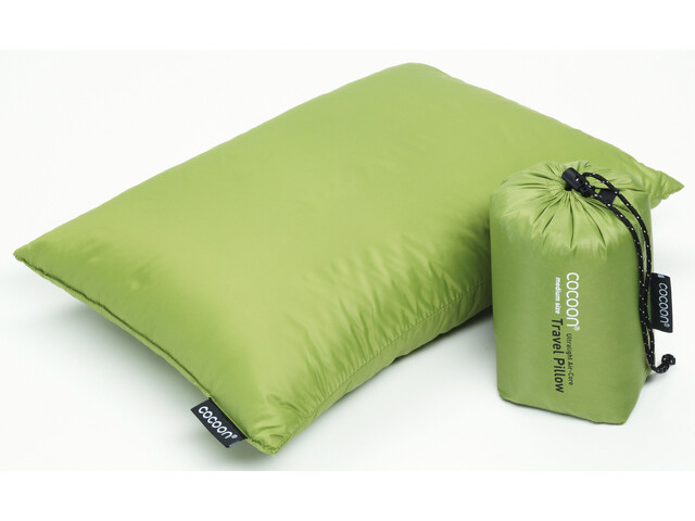 Cocoon Travel Pillow Remplissage Duvet 29x38cm, wasabi